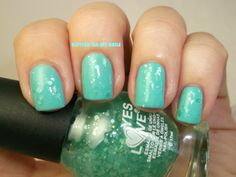 GLITTER ON MY NAILS: MATTE GLITTER 5 BY YES LOVE