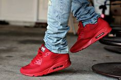 """Nike Air Max 90 Hyperfuse """"Independence Day"""" Red"""