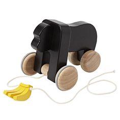Muji wooden toy gorilla