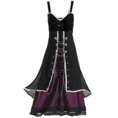 steam punk dresses | Corinth Steampunk Dress | Steampunkery