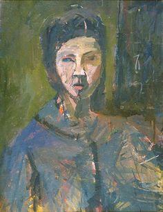 Janice Nowinski Self Portrait, Blue Shirt Artist Quotes, Selfies, Impressionist Art, True Art, People Art, Contemporary Paintings, Figurative Art, Art Forms, Art History