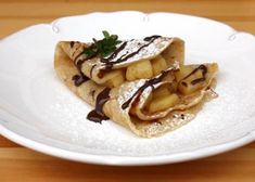 Jablkové palacinky - recept Cottage Cheese, Pancakes, Breakfast, Ethnic Recipes, Sweet, 3, Lasagna, Morning Coffee, Candy