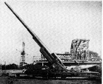 Kanone-38 (210mm): The development of what would eventually be designated 21 cm Kanone-38 (21 cm K-38) heavy howitzers began in 1938. They entered service in 1941. By 1943, only a total of eight examples were built as the German Army lacked interest in 21-centimeter caliber weapons.