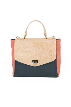 Vegan Maya Cork Handbag - Rok Cork