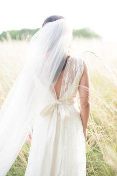 Bride wears a Charli