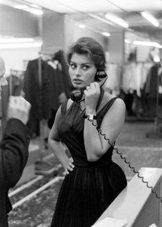 """underchestnuttree84:  """"Sophia Loren  """""""
