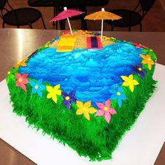 Beach Cake Bake Your Day, LLC - Alexandria, LA www.facebook.com/bakeyourdayllc (318) 229-0299 bakeyourdayllc@hotmail.com
