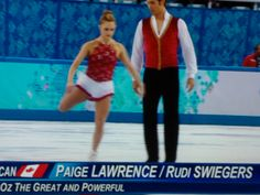CANADA PAIGE LAWRENCE & RUDI SWEGERS IN FIGURE SKATING