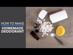This homemade deodorant recipe is amazing! You only need 3 ingredients to make this effective, healthy and cost effective deodorant! Deodorant Recipes, Homemade Deodorant, Deodorant Containers, Baking Soda Uses, Coconut Oil Uses, Natural Cleaners, How To Make Homemade, Body Butter, Glass Jars