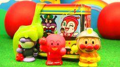 アンパンマンバスとスライム おもちゃアニメ
