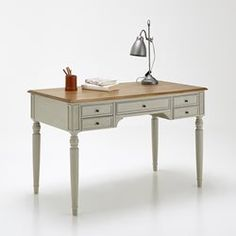 TRIANON 2-Drawer Desk La Redoute Interieurs - Office