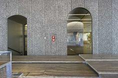 Fondazione Prada Milano by OMA - Rem Koolhaas; Alusion aluminium foam Podium cladding, ph ©Moreno Maggi