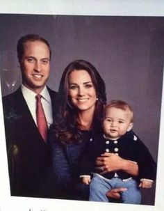 Kate Middleton George William (Foto:   )
