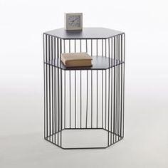 Chevet métal filaire, Topim La Redoute Interieurs - Table de chevet