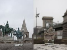 Junkculture: Joo Yeon Woo: Travelers Cup Street Portrait, Monuments, Photoshop, Urban, Architecture, Mini, Photography, Travel, Art