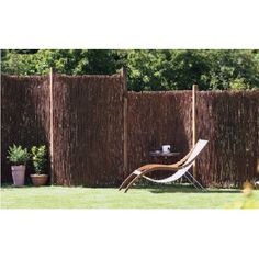 This durable Willow Twig Privacy Screen Fence is a great alternative for your gardens privacy needs. Made of sustainable willow materials. Garden Privacy, Privacy Screen Outdoor, Privacy Fences, Fencing, Backyard Privacy, Privacy Screens, Backyard Patio, Home Depot, Painted Screen Doors