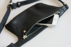 POLA Leather Waist Bag by MISHKAbags on Etsy