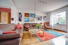 Grouping your pieces can create more impact than hanging only one per wall.  #Stockphotos #Fotolia  #Livingroom #Wohnzimmer #Artwall #Kunstwand ©zabanski - http://de.fotolia.com/p/203022447