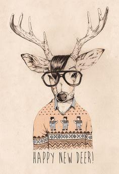Concept & Illustration / Hipster opposite day on Behance