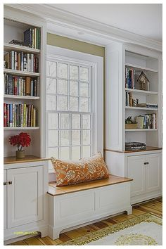 Image result for built in window seat