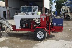 40 YPH Pumpstar Small Trailer Pumps - * Type: Small Trailer Pumps * Pump Model: * Hours: 1594 * Max Concrete Output: 40 YPH * Recent Significant Repairs: Excellent condition, Reinert low hours, new cutting ring and shift cylinders, in Texas Small Trailer, Pump Types, Trailers For Sale, Concrete, Texas, Trucks, Pumps, Ring, Model