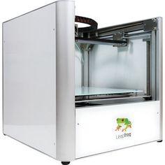 Leapfrog - Creatr Single Extruder 3D Printer - Silver #3dprinting #3d #3dprinters