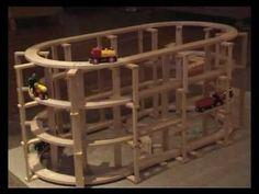 BRIO Bahn und Kapla Bausteine I. - YouTube Brio Bahn, Wooden Building Blocks, Block Play, Popsicle Crafts, Wood Architecture, Wooden Train, Toy Rooms, Diy Games, Happy Kids
