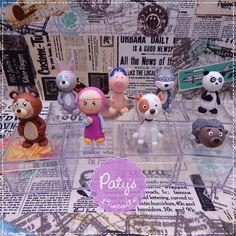 Caixinhas decoradas Masha e o Urso - Paty's Biscuit