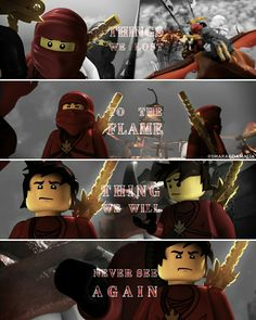 """#LEGO #Ninjago #KaiSmith #masteroffire #ninjagoseason1 #season1 #monasteryofspinjitzu ⚫[ """" Home """"   Season 1, Episode 2 ] ⚫[ """"Things we lost to the flame, things we will never see again."""" ] #lyrics by #Bastille ⚫My edit. I really hope you'll like it. Don't forget to give me credits, if you repost. :-)"""
