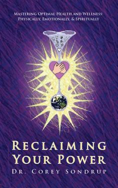 My first book, Reclaiming Your Power, (2008) self help/personal growth.