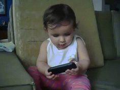 Trending GIF baby phone mom eyebleach imitates