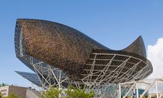 pez de acero de Frank Gehry