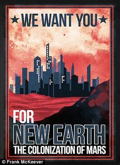 Colonisation of Mars in the form of a city, meanwhile, is something that may also be a possibility