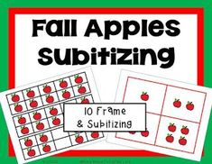 Apple Unit Bundle includes the history of Johnny Appleseed with a printable book, addition, subtraction games, and subitizing with apples! Math Addition Games, Addition And Subtraction, Math Games, First Grade Classroom, First Grade Math, Second Grade, Reading Stations, Math Stations, Writing Activities