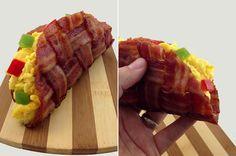 Breakfast Bacon Taco