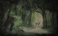 Delle volte mi domando: sogno o son desta? Quando cammino tra questi alberi, lungo i sentieri ombrosi, il profumo di menta selvatica e di terra umida, i versi degli uccelli e il loro battito d&#821…