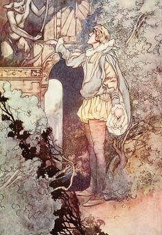 Not marble, nor the gilded monuments. Illus. Charles Robinson