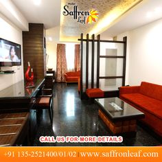 Welcome to the #Dehradun's most luxurious hotel. Stay here and spend your lavish time. To know more visit www.saffronleaf.com Or Call Us at: +91 135-2521400/01/02