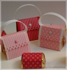 Chocolate purses