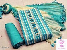 Churidar Designs, Kurta Designs Women, Cotton Dress Indian, Cotton Dresses, Fancy Dress Material, Latest Suit Design, Casual Indian Fashion, Kalamkari Dresses, Long Dress Fashion