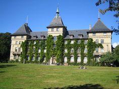 Alnarps slott (castle) in Skåne, Sweden