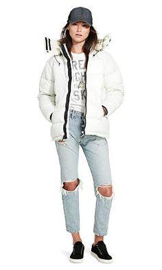 Hooded Down Jacket - Denim & Supply  Coats - RalphLauren.com