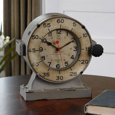 Uttermost Marine Table Clock - 11H in. - 6096