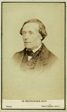 Duchartre P. Albumine visitekaart foto (1864) gemaakt door Charles Reutlinger. Verzameling Wilfried Vandevelde.