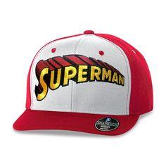 Boné Aba Reta Superman Logo Clássico #Superman #LojaDCComics #DCComics #bandUPStore #Comics