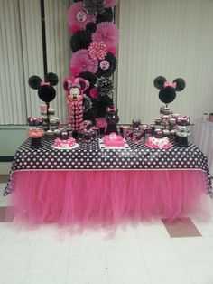 Mickey Mouse / Minnie Mouse Birthday Party Ideas   Photo 7 of 21   Catch My Party