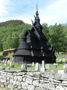 """Stave church dating back to 1180 that served as inspiration for architecture used in Disney's """"Frozen""""."""