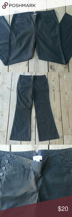 """Super cute!!!! Ann Taylor LOFT Marisa fit pants Marisa fit, linen/cotton/spandex blend, length 30"""", size 6 LOFT Pants"""