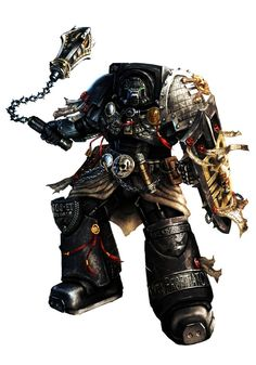 "inoxhammer: ""Black Shield Alric by slaine69 https://slaine69.deviantart.com/art/Black-Shield-Alric-350253415 Visit My Store: https://inoxhammer.com/ """