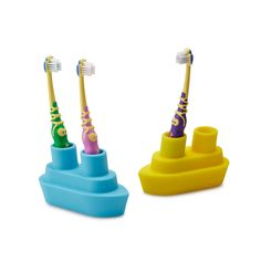 BOAT TOOTHBRUSH HOLDER | Kids Toothbrush Holder | UncommonGoods